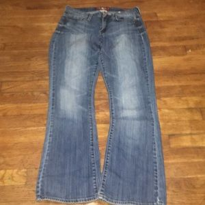 Lucky Brand Sofia boot jeans size 6/28 regular